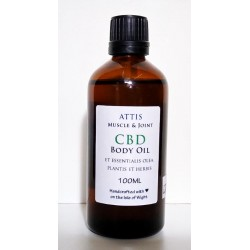 ATTIS CBD Body Oil with...