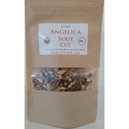 ATTIS Angelica Archangelica Root cut