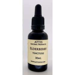 ATTIS Elderberry fresh berries tincture | 30ml | with pippette | in 37.5% alcohol