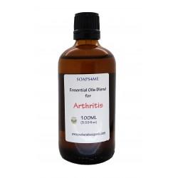 SOAPS4ME Essential Oils Blend for Arthritis relief | Body Oil | Massage Oil | 100ml