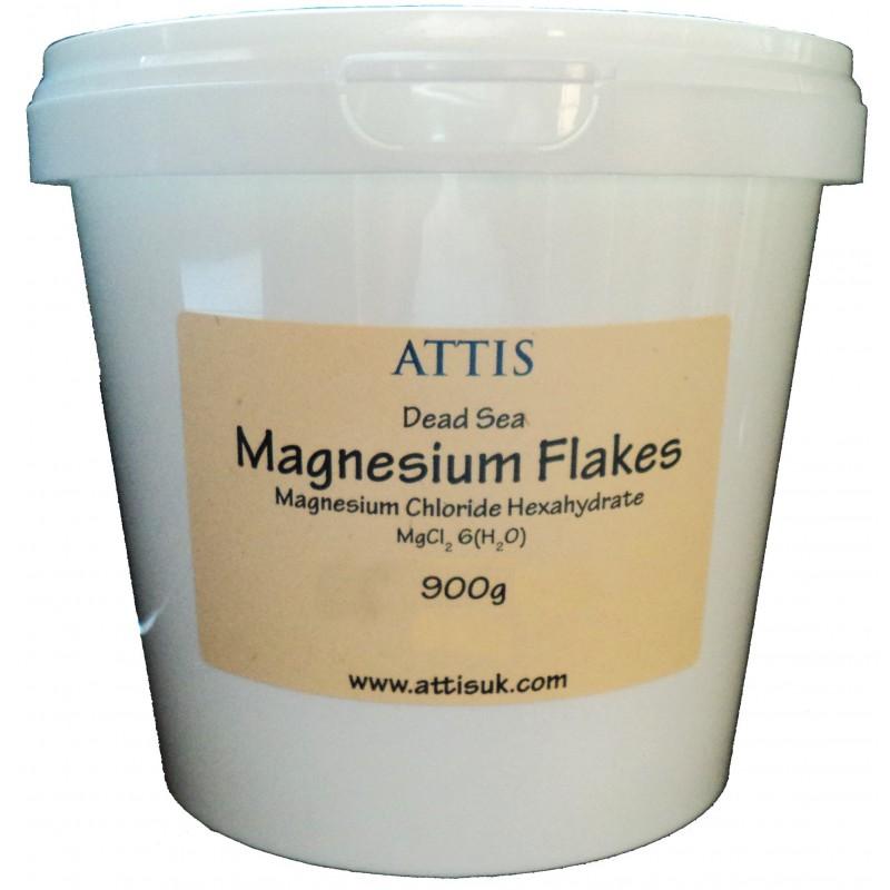 ATTIS Dead Sea Magnesium Chloride Flakes - 900g