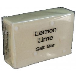 ATTIS Lemon & Lime Salt Bar Handmade Natural Soap | Vegan | Palm Oil Free