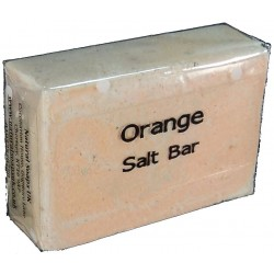 ATTIS Orange Salt Bar Handmade Natural Soap | Vegan | Palm Oil Free