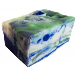 ATTIS - Calleis Handmade Natural Balancing Soap for Oily Skin | Vegan | with Cocoa Butter, Shea Butter and Aloe Vera gel