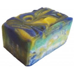 ATTIS - Iaso Handmade Natural Nourishing Soap for Sensitive Skin | with Shea Butter, Cocoa Butter and Aloe Vera gel
