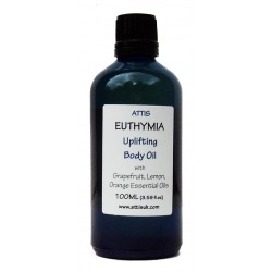Euthymia - Uplifting Body Oil - 100ml | Handmade | 100% Natural | Vegan