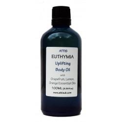 Euthymia - Uplifting Body Oil - 100ml | Handmade | 100% Natural | Vegan