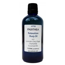 Pasithea - Relaxation Body Oil - 100ml  Handmade   100% Natural   Vegan