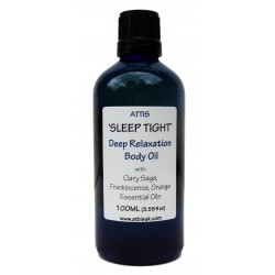 'Sleep tight' Deep Relaxation Masage & Body Oil - 100ml   Handmade   100% Natural   Vegan