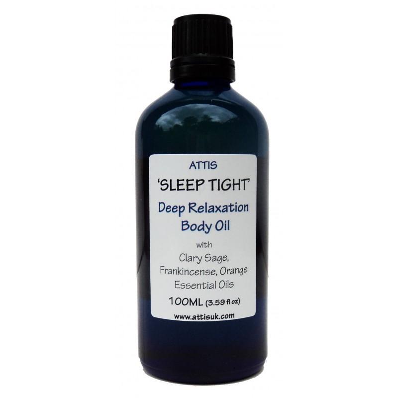 'Sleep tight' Deep Relaxation Masage & Body Oil - 100ml | Handmade | 100% Natural | Vegan