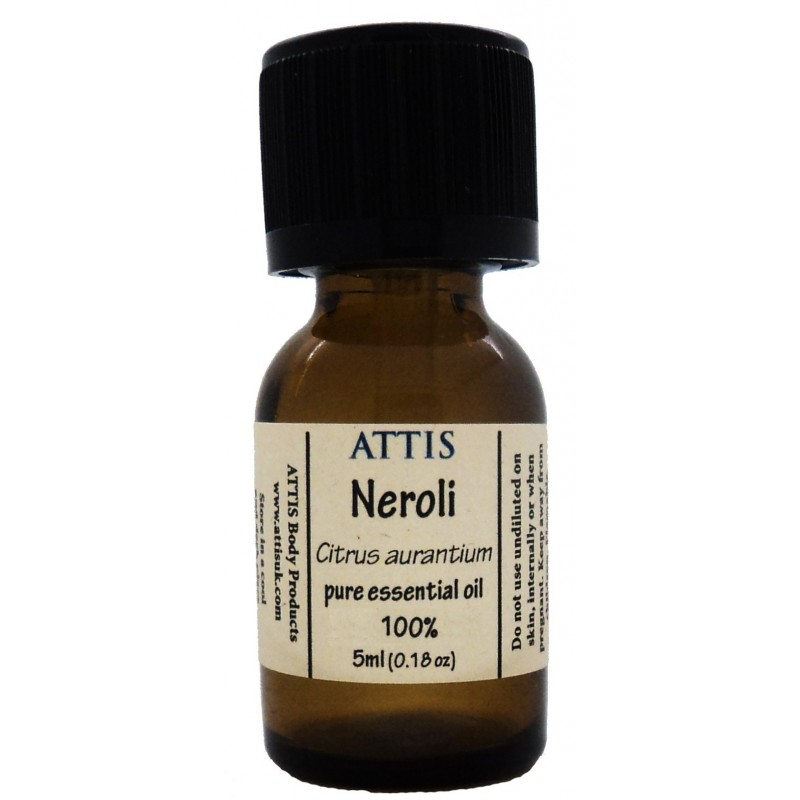 ATTIS Neroli Essential Oill - Citrus aurantium amara | 100% pure essential oil - 5ml, 10ml