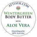 ATTIS Wintergreen Body Butter with Aloe Vera | Vegan | moisturising | rehydrating