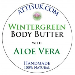 ATTIS Wintergreen Body Butter with Aloe Vera | Vegan | moisturising | rehydrating