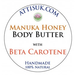 ATTIS Manuka Honey Body Butter with Beta Carotene and Organic Carrot CO2 extract