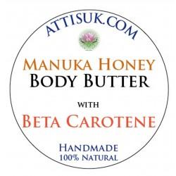 ATTIS Manuka Honey Body Butter with Beta Carotene and Organic Carrot CO2 extract