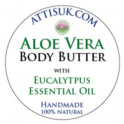 ATTIS Aloe Vera Body Butter with Eucalyptus Essential Oil | Vegan