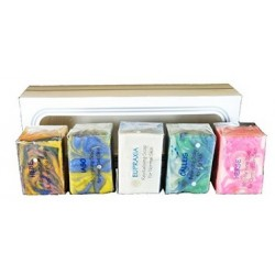 ATTIS  ATTIS Natural Handmade Marble Soaps Selection Gift Set of 5 (set3) | Vegan