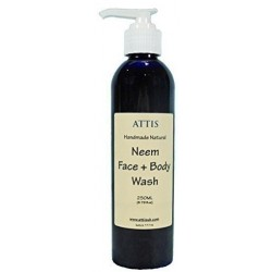 ATTIS Neem Face & Body Wash | 250ML | Vegan | for Normal to Oily Skin