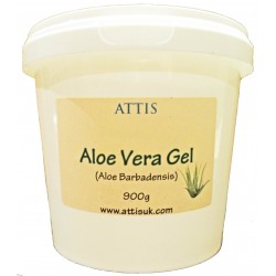 ATTIS Aloe Vera Clear Gel | 900g | Soothing | Hydrating | Relieving