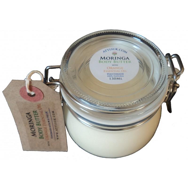 ATTIS Luxury Body Butter with Lavender, Helichrysum and Neroli Essential Oils | Vegan