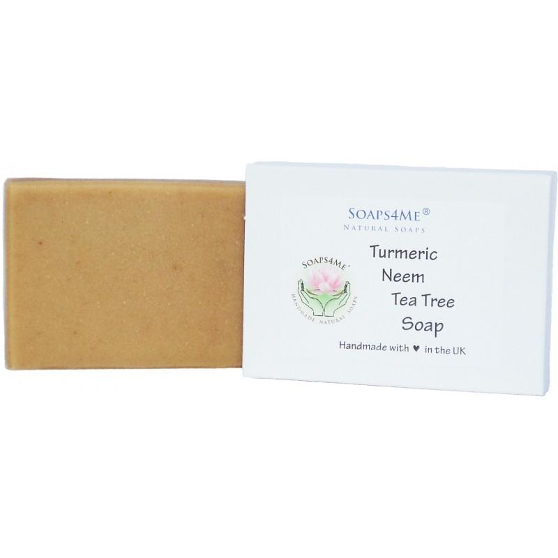 SOAPS4ME Turmeric, Neem & Tea Tree Soap