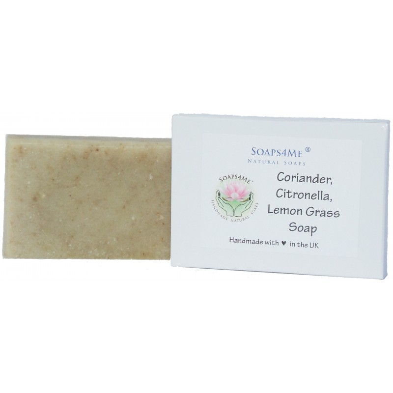 SOAPS4ME Coriander, Citronella & Lemon Grass Handmade Soap