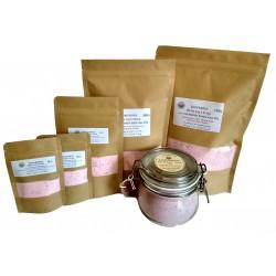 ATTIS Luxurious Bath Salt Soak with Lavender Essential Oil, Pink Himalayan Salt, Magnesium Flakes, Epsom Salt