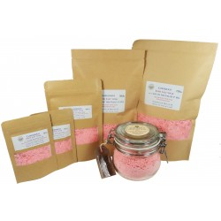 ATTIS Luxurious Bath Salt Soak with Lily of the Valley F. Oil, Pink Himalayan Salt, Magnesium Oils, Kaolin Clay