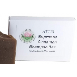 SOAPS4ME Handmade Espresso | Cinnamon Shampoo Bar | with Coffee powder and Clove Essential Oil
