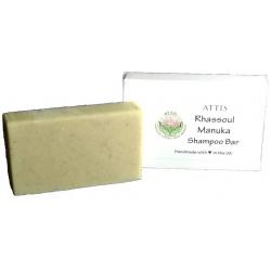SOAPS4ME Handmade Rhassoul Manuka Honey Shampoo Bar | with Kaolin Clay