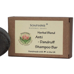 SOAPS4ME Handmade Anti-Dandruff Herbal Blend Shampoo Bar | with Ginger root | Reetha | Shikakai | Patchouli