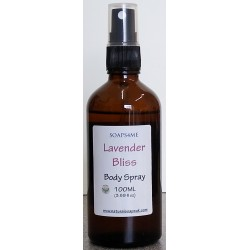 SOAPS4ME Lavender Bliss Body Spray 100ML