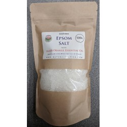 SOAPS4ME Epsom Salt with Sweet Orange Essential Oil 500 GRAM