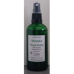 SOAPS4ME Manuka Floral Water with Organic Leptospermium Scoparium 100ML