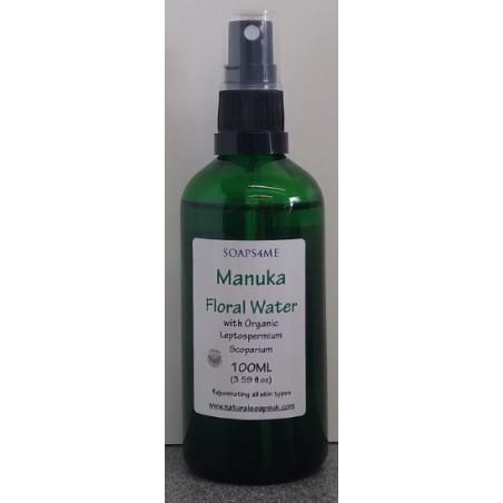 SOAPS4ME Manuka Floral Water with Organic Leptospermium Scoparium 100ML