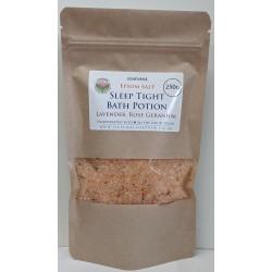 SOAPS4ME Epsom Salt Sleep Tight Bath Potion Lavender, Rose Geranium